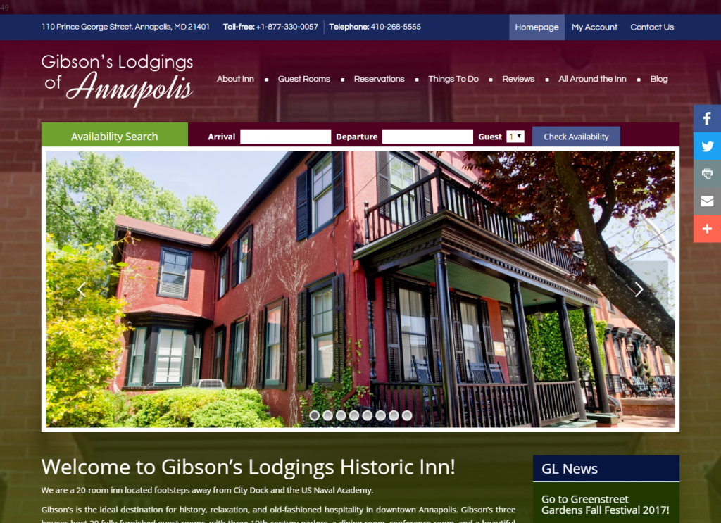 Gibson's Lodgings