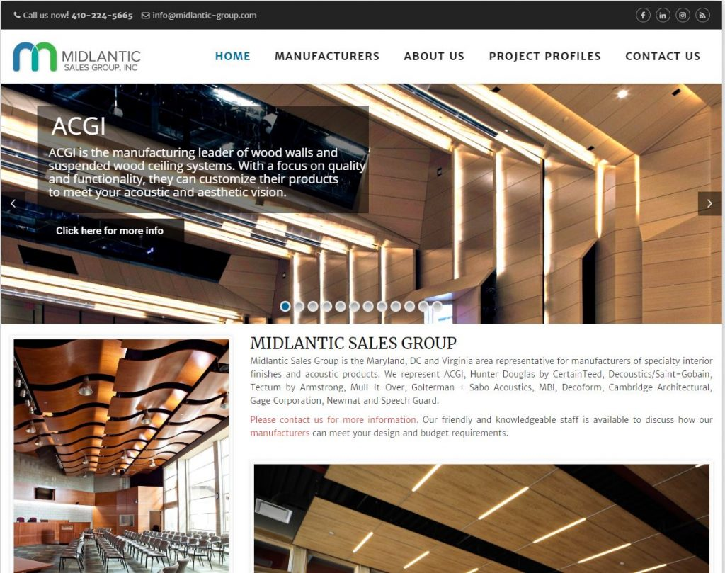 Midlantic Group Sales